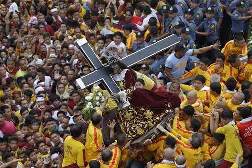 Procession Black Nazarene January 9, 2014