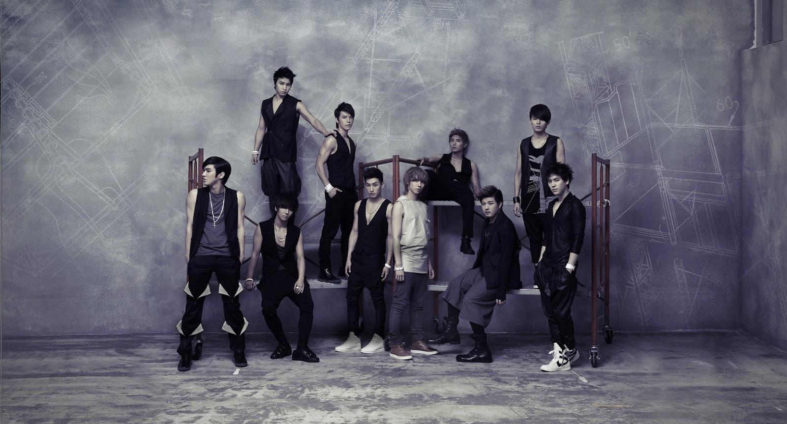 Kyuhyun, Heechul, Leeteuk, Siwon, Ryeowook Super Junior Wallpaper