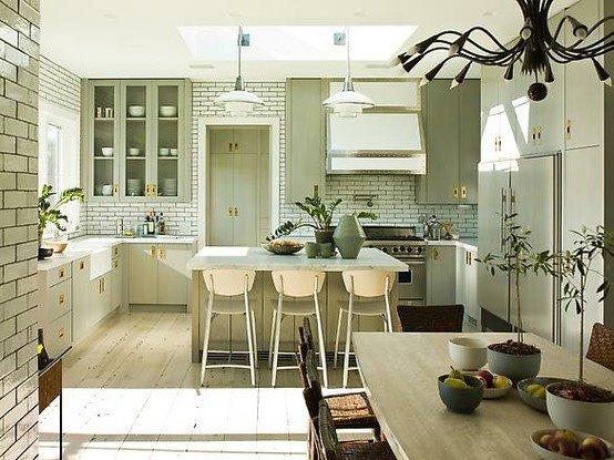 40 diseños de modernas islas de cocina, ideas con fotos  - fotos de muebles de cocina estilo campo