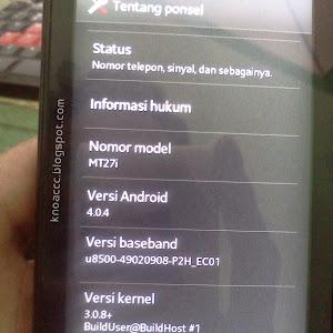 Upgrade ICS 4.0.4 Sony Xperia Sola MT27i Official Firmware