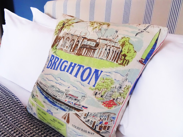 Snooze Brighton pillow