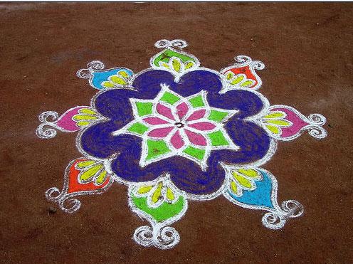 Sankranti Special Chukkala Muggulu for 2013