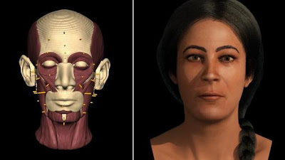 Face of 5,000 year old Maltese woman revealed