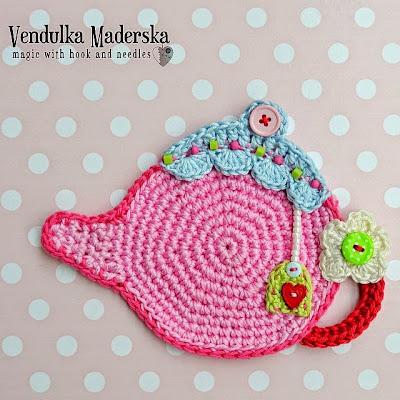 Crochet teapot pattern