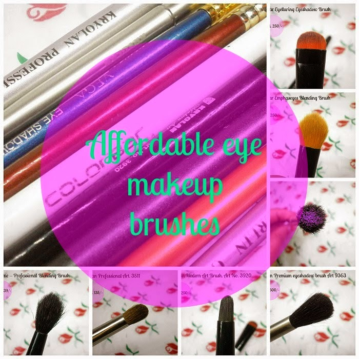 Affordable Eye makeup brushes in India
