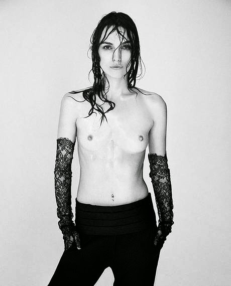 Keira Knightley topless, Keira Knightley unedited pictures, Keira Knightley Interview magazine