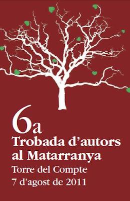 Cartell 6a Trobada d'autors al Matarranya
