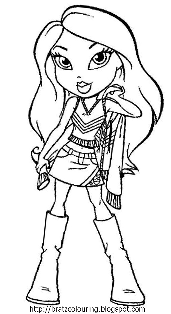cheerleading coloring pages for grils - photo#28