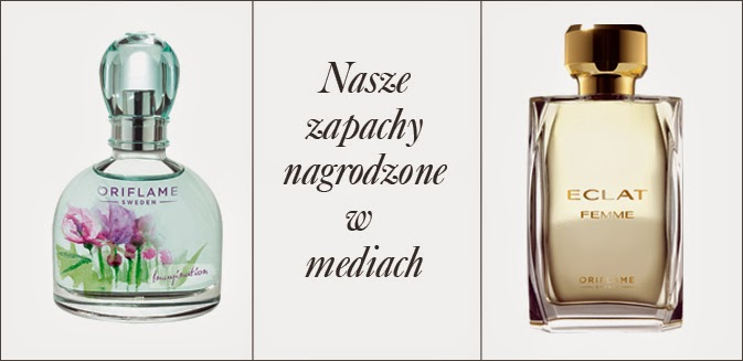 2 Nagrody dla perfum Oriflame 2014
