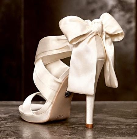 bow open toe wedding shoes bride wedding day inspiration
