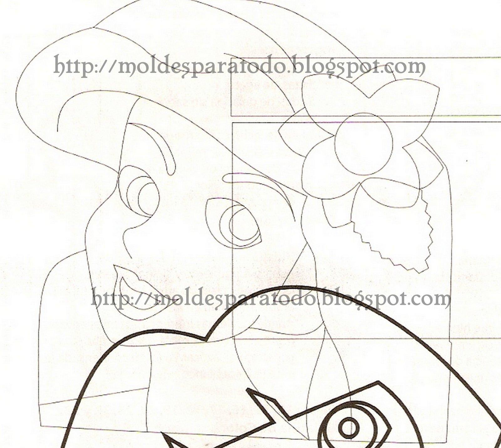 Moldes De Minnie En Fomi Google Drive | apexwallpapers.com