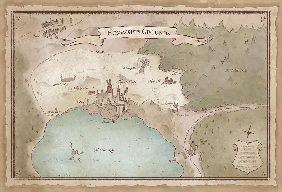 Map of Hogwarts