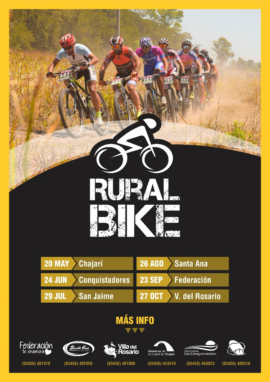 Rural Bike Departamento Federacion x 6