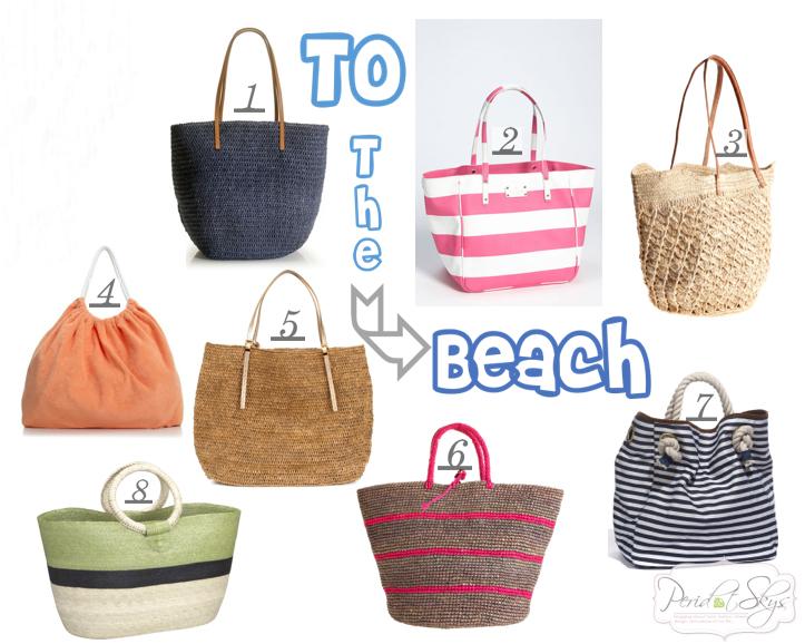 Beach Bags - Peridot Skies
