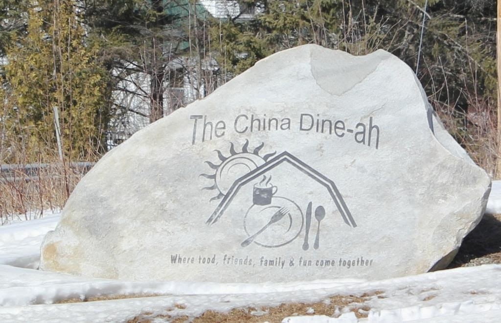 China Dine-ah sign