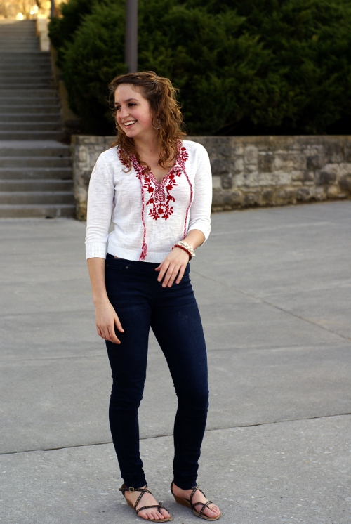 virginia street style, southern street style, Virginia Tech fashion, 