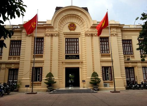 Le musée de la révolution vietnamienne