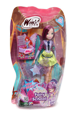 TOYS : JUGUETES - WINX CLUB Fairy School - Tecna   Muñeca - Hada  Producto Oficial - New TV Series 7   Giochi Preziosi   A partir de 3 años Comprar en Amazon España