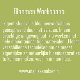 Bloemenworkshops