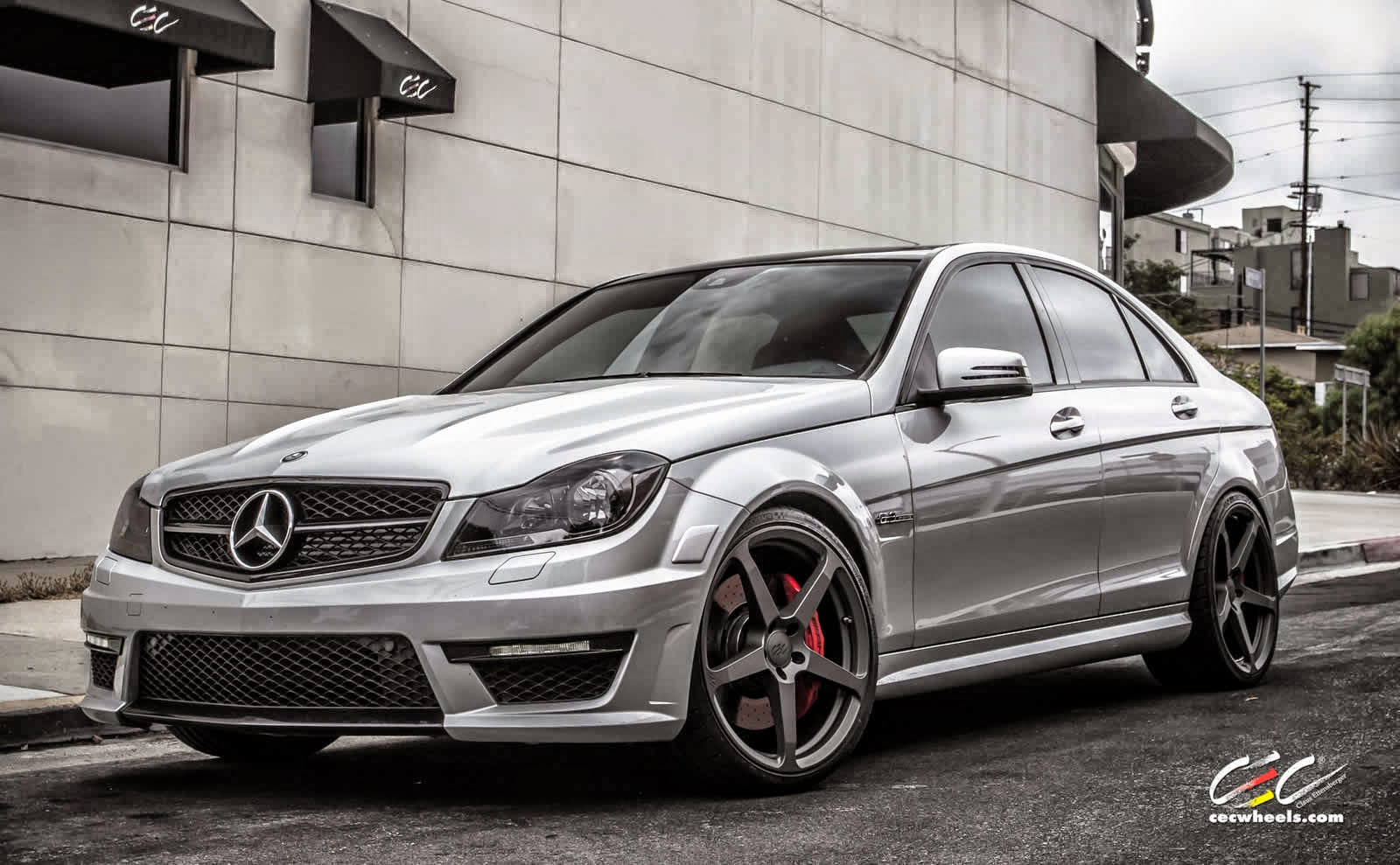 Mercedes benz w204 c63 amg with cec c884 wheels benztuning for C63 mercedes benz