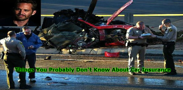 Things You Probably Don't Know About Car Insurance