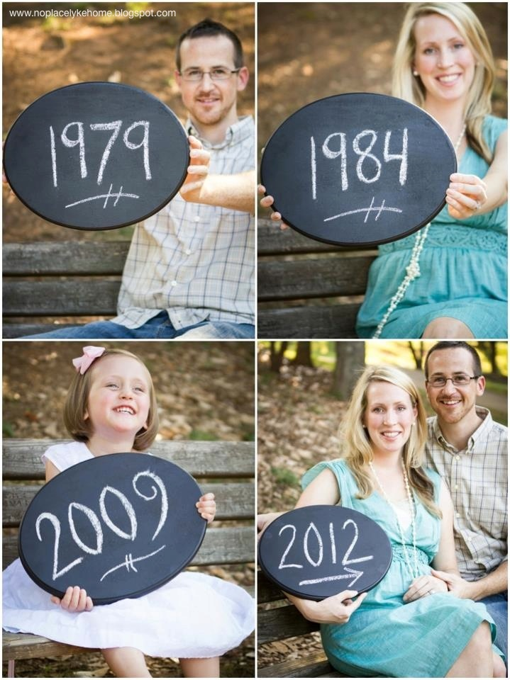 I Heart Pears 22 Awesome Pregnancy Announcement Ideas – Cute Baby Announcement