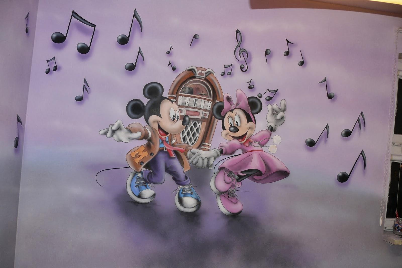 Artystyczne malowanie ściany w pokoju dziewczynki, obraz ścienny w pokoju dziewczynki, warszawa