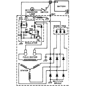 ford 2g, vw beetle, delco one wire, ford tractor, on acdelco alternator wiring diagram