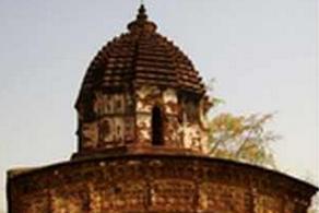 Kota kecil Bishnupur di Bengali Barat - India