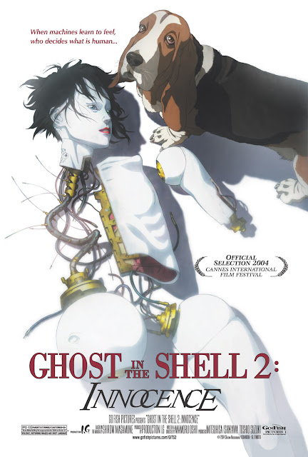 Ghost in the Shell 2 Innocence poster recensione