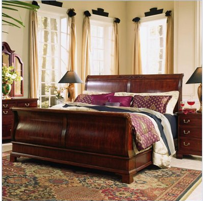 sleigh bed with drawers underneath 2