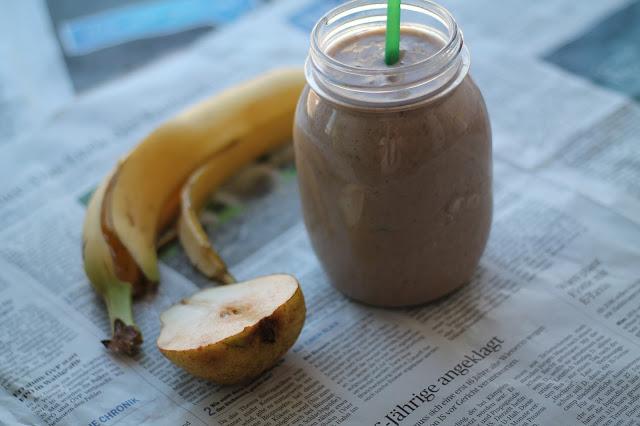 Rezept Proteinsmoothie Recipe Protein Smoothie / Green Smothie / Grüner Smoothie / Fit durch 2015 / #fitdurch2015 / Clean Eating / gesunde Rezepte / #svetlanakocht #topfenistquark