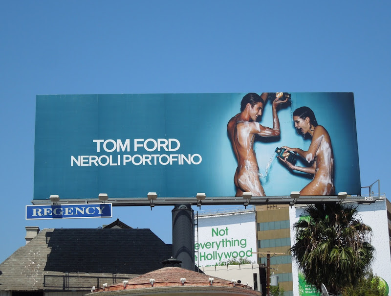 Tom Ford Neroli Portofino naked billboard