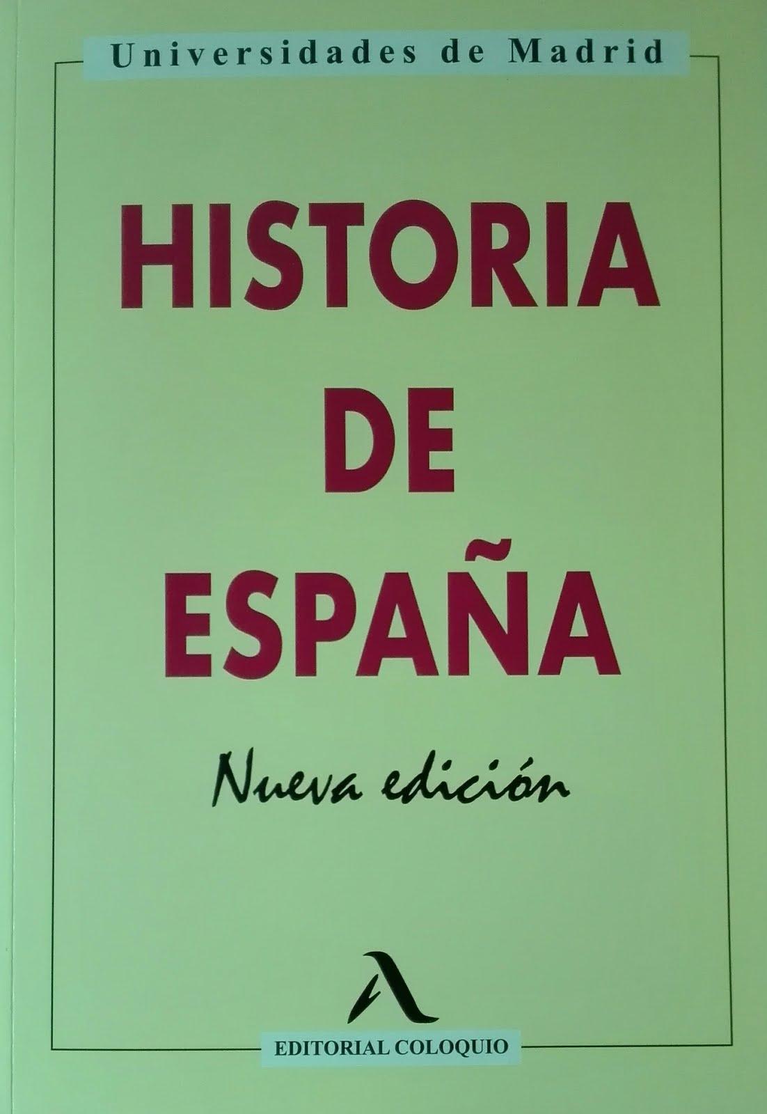 Obra del bloguero. Coautor. Libro de texto. Historia de España, Nueva edición, 2018