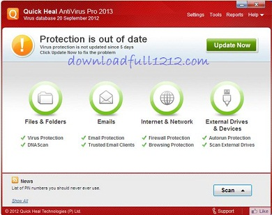 No To Illegal Products Like Quick Heal Antivirus Pro 2013 Crack