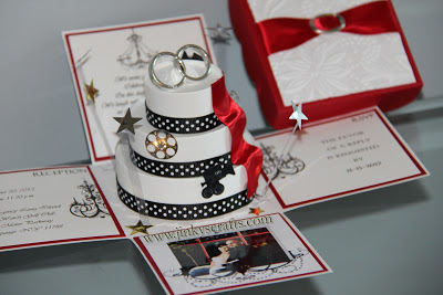 jinky s crafts amp designs hollywood themed wedding invitations