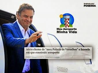 Aécio Neves nocauteado no Jornal Nacional . Proposta Zero. Culpou os pobres pelos maus números do governo dele