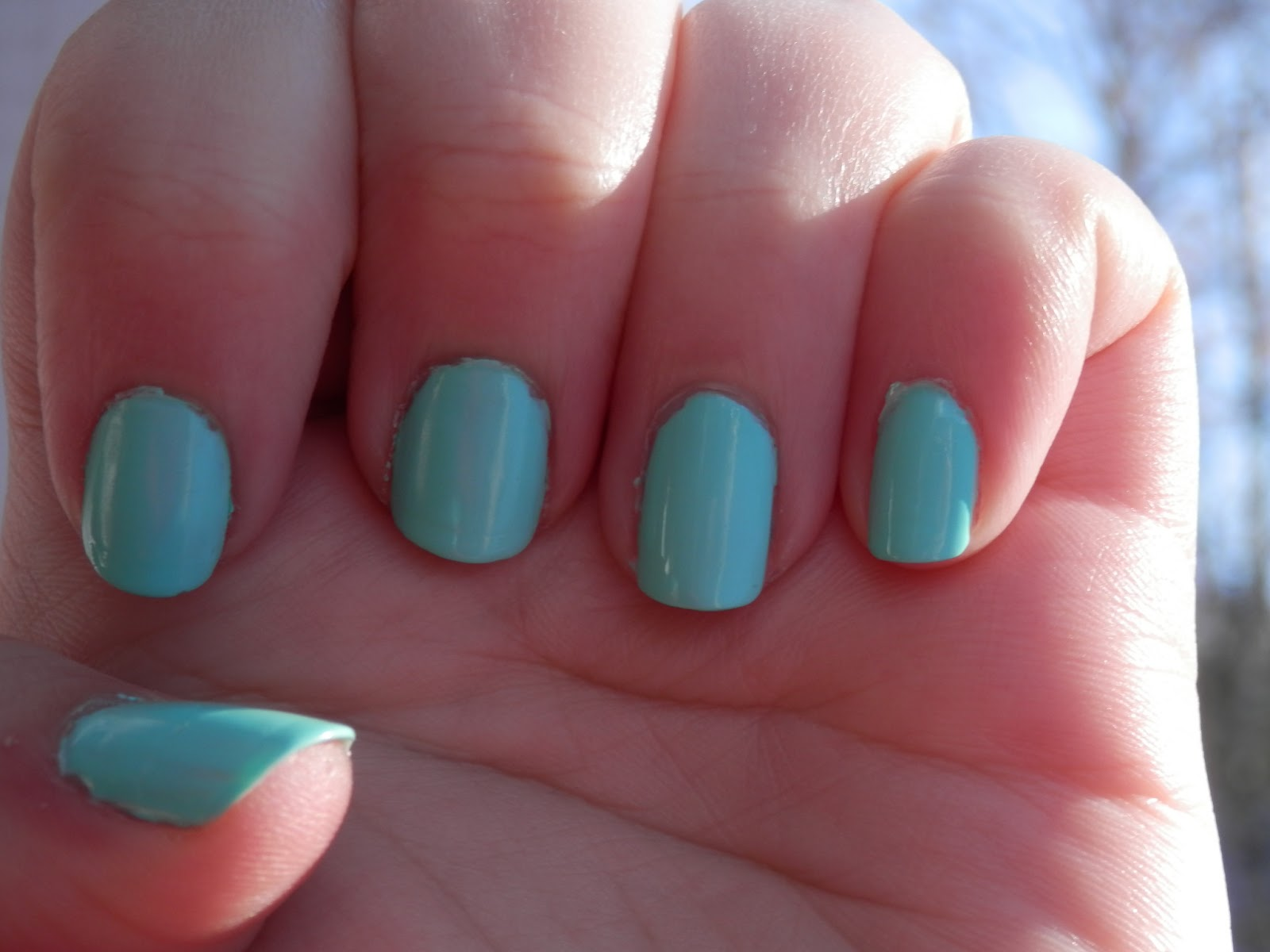 Color Club Blue Ming Swatch