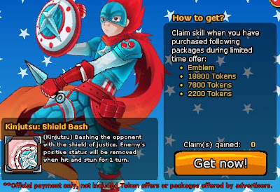 Claim Kinjutsu Shield Beash Ninja Saga