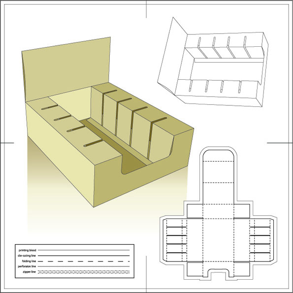 Cajas y empaques personalizados for Card box template generator