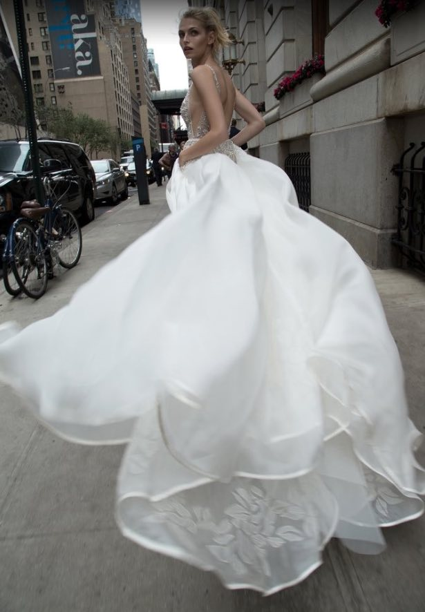 Inbal Dror Wedding Dresses with A Touch of Old Hollywood Glamour ...