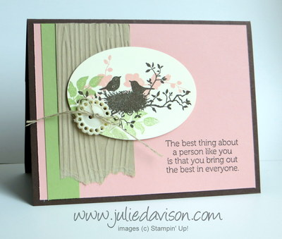 Stampin' Up! World of Dreams card