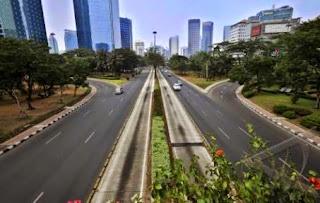 Jakarta Bagai Kota Mati, Jalan Protokol Bebas 3 In 1