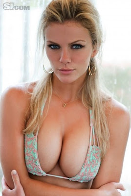 g cup breasts  brooklyn-decker-boobs-fake+...