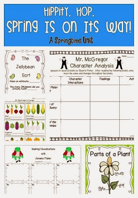 http://www.teacherspayteachers.com/Product/Hippity-Hop-Spring-Is-On-Its-Way-A-Springtime-Unit-228194