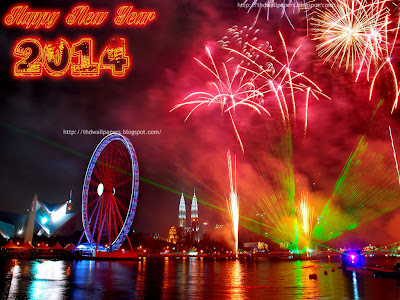 Happy New Year 2014 Fireworks - Fireworks Wallpapers New Year Eve