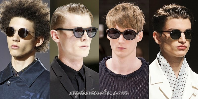 Summer 2014 Men's Sunglasses Fashion Trends