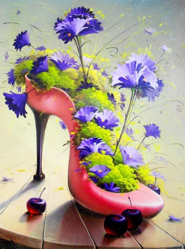 Cuadros modernos pinturas y dibujos dibujos surrealistas - Cuadros faciles de hacer ...