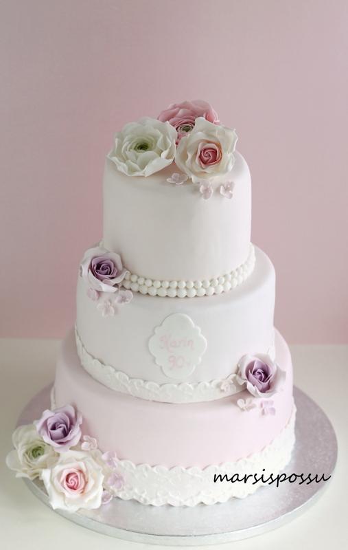 kakku 90-vuotiaalle