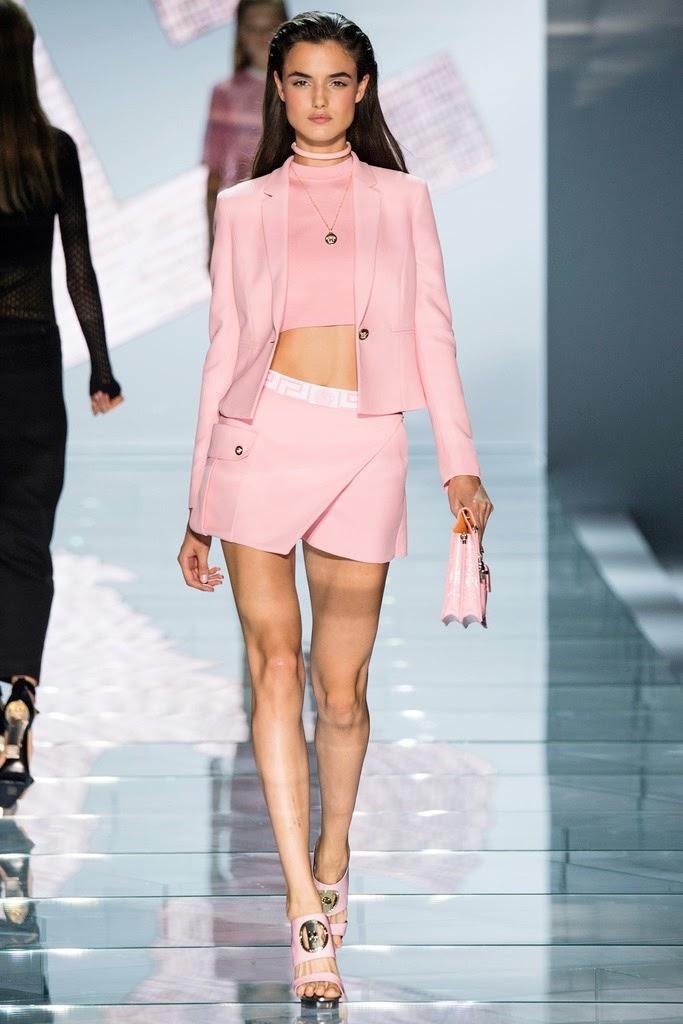 Más vestidos para ti: Versace Milan Fashion Week Primavera Verano 2015